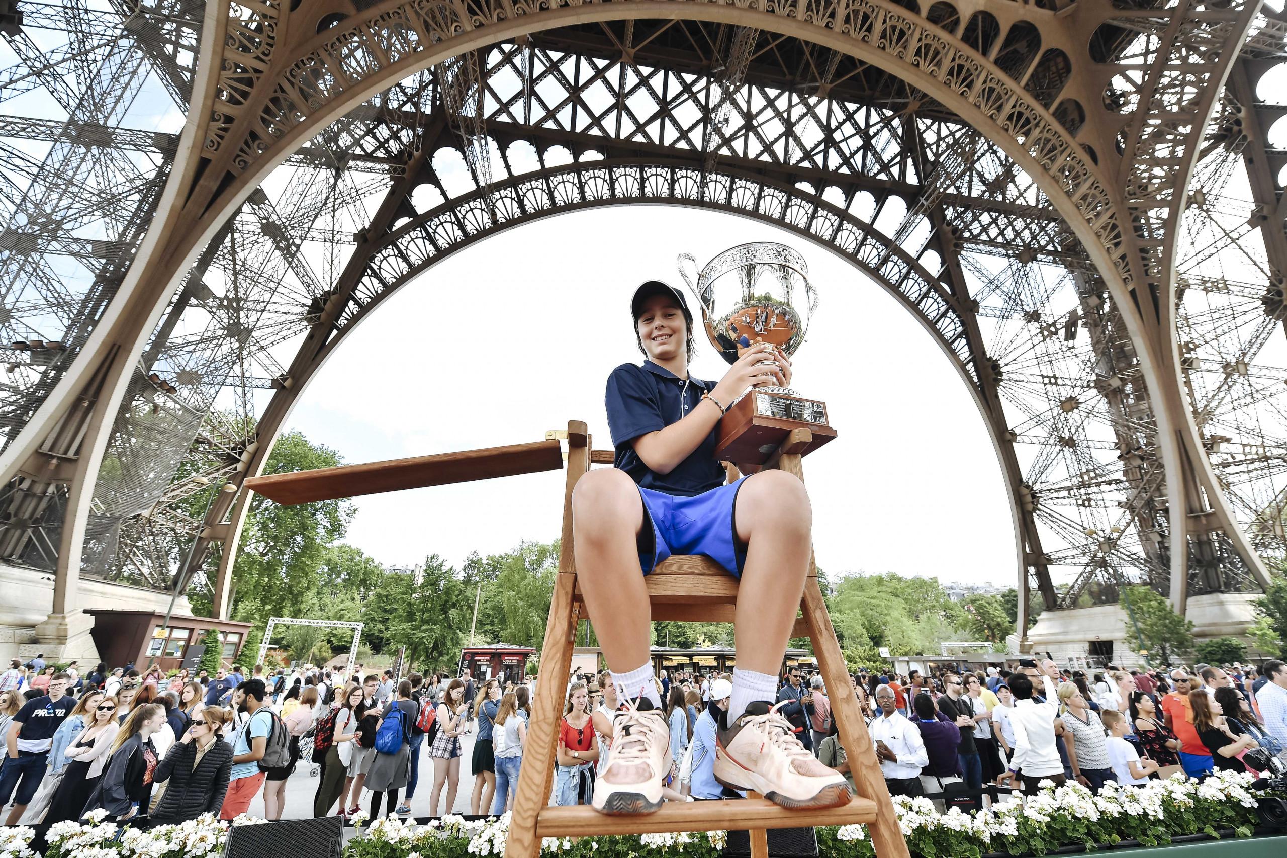 Longines Future Tennis Aces à Paris
