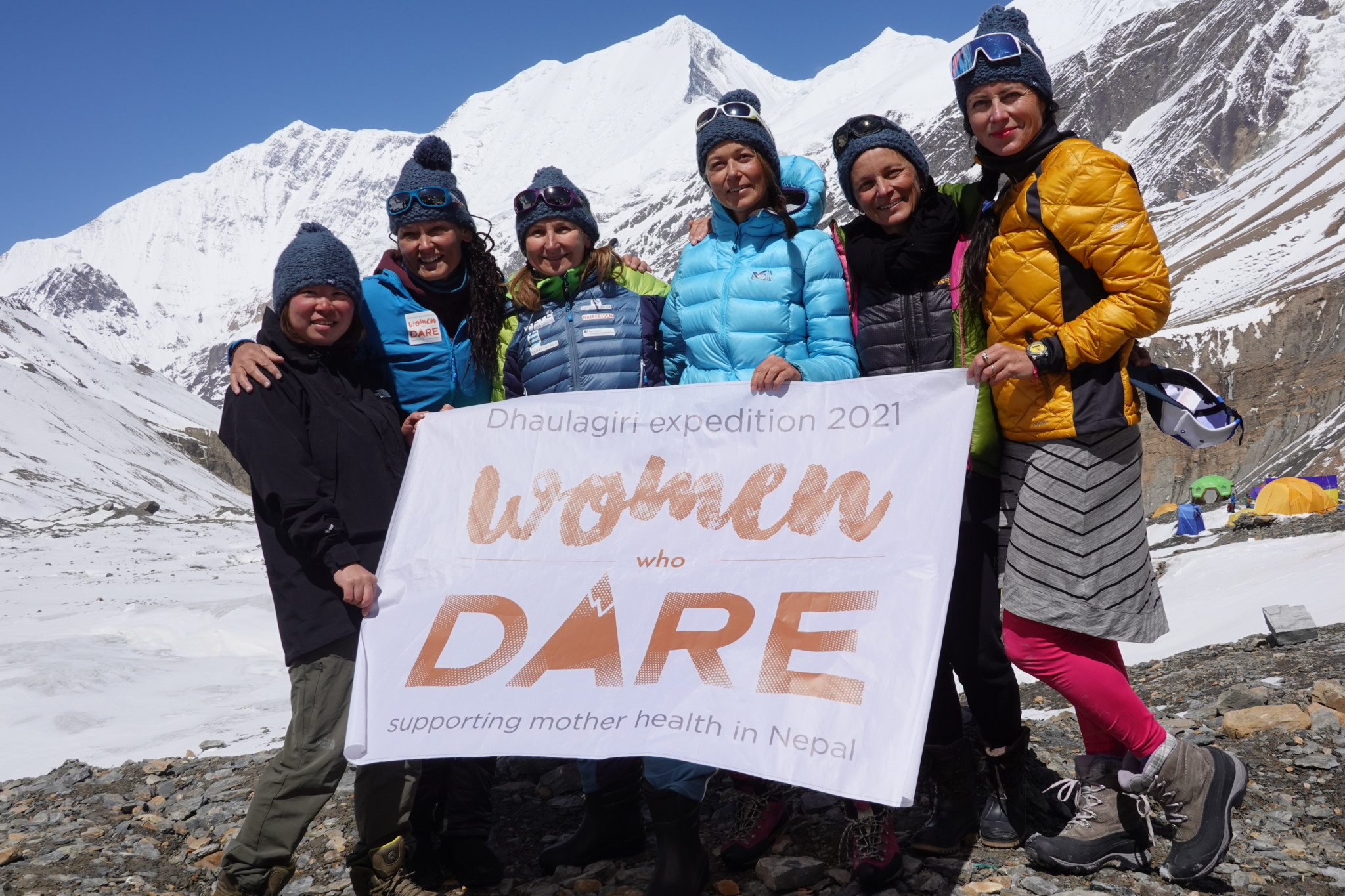 WOMEN WHO DARE, supporting mother health in Nepal